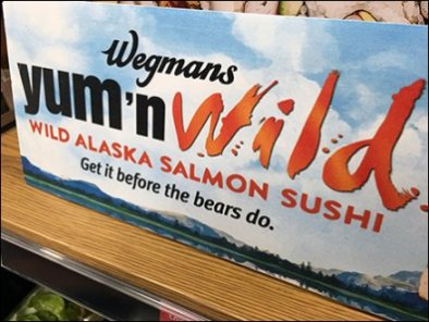 Alaskan Salmon Sushi - Get It Before The Bears Do 2