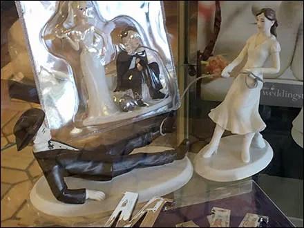 Treasured Memories Wedding Cake Toppers