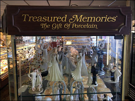 Treasured Memories Figurine Showcase