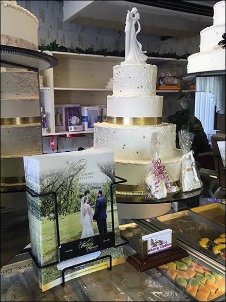 Table-Top Wedding Planner Literature Holder