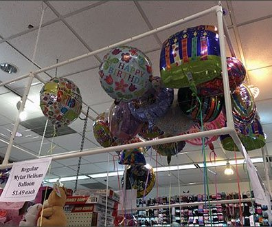 Balloon Ceiling Corral Dollar Place Main