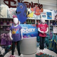 Disney Dory JCPenney Display 1