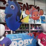 Disney Dory JCPenney Display 2
