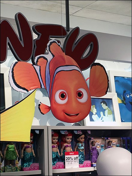 Disney Dory JCPenney Display 3