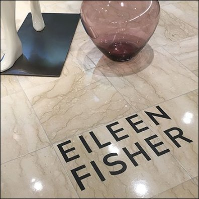 Eileen Fisher Singular Floor Graphic Feature