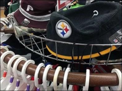 Fenced Circular Cap Rack In Apparel 2
