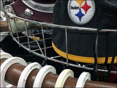 Fenced Circular Cap Rack In Apparel 3