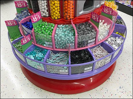 Giant Gumball Machine Offers 15 for $1