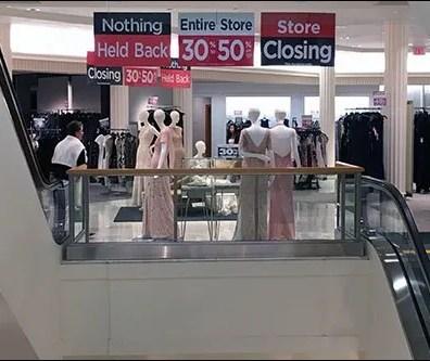 Macys Store Closing Horizontal Signs 3