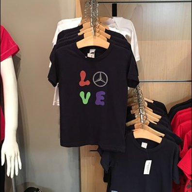 Mercedes Benz Manhattan Kiddie T-Shirt Faceout
