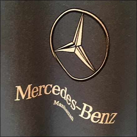 Mercedes Benz Manhattan Branded Clothes Hanger