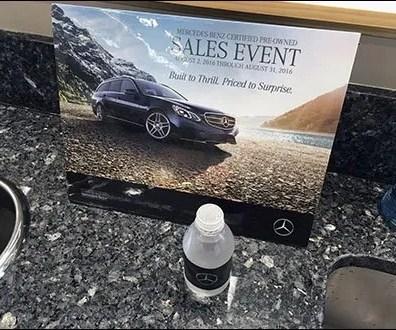 Mercedes Benz Manhattan Branded Water Main