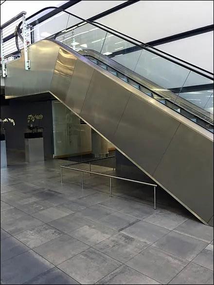Mercedes Benz Manhattan Escalator Restriction Main2