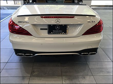 Amazon.com: Genuine Mercedes Benz Black License Plate Frame .