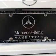 Mercedes Benz Manhattan License Plate Branding 3