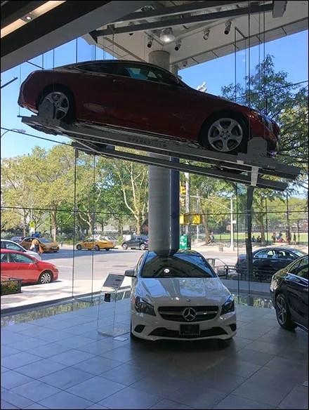 High Quality Mercedes Benz Manhattan ParkPlus Red Main