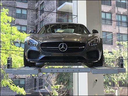 Mercedes Benz AMG Can Fly And Does