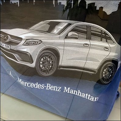 Mercedes Benz Manhattan T-Shirt Feature