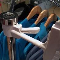 Mercedes Benz Manhattan T-Shirt Rack Sign Clip