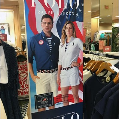 Polo Summer Olympics Apparel Signage 3