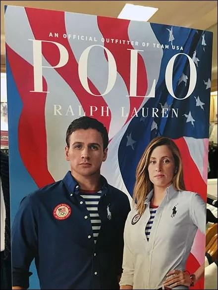 Polo Summer Olympics Apparel Signage Main