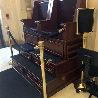 Ritz Carlton Lobby Shoeshine Stand Main