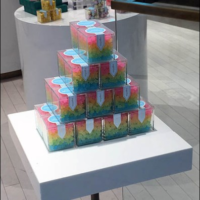 Sugarfina Candy Pyramid and Pedestal 2