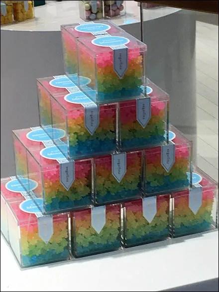 Sugarfina Candy Pyramid and Pedestal 3