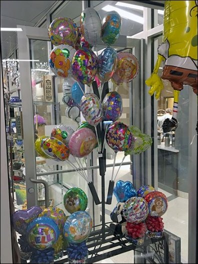 Table Top Balloon Tree 1