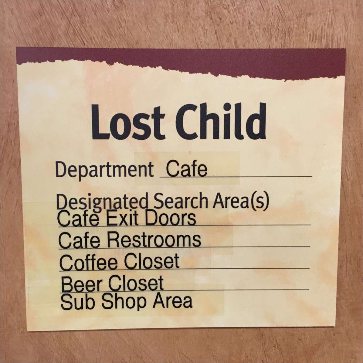 Best Child Safety Signage For Retail