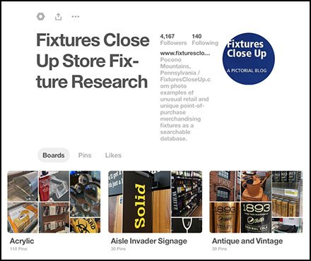 FixturesCloseUp Pinterest Store Fixture Photos