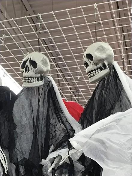 Ceiling Grid Skyhooks Merchandise Halloween Ghouls