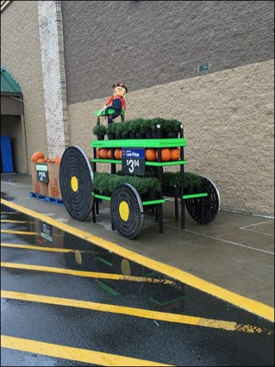 Do-It-Yourself Pumpkin Tractor Pull At WalMart