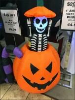 Halloween Inflatables Merchandised En Masse
