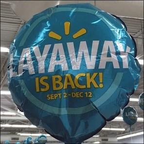 Layaway Is Back Inflatable
