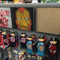 Graphic T-Shirt Display Frames Pegboard Mount