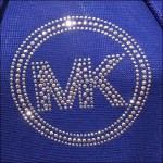 Michael Kors Logo Pointalism Square
