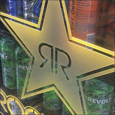 RockStar-Brand Energy-Drinks Rocks Cooler
