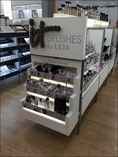 Branding Ulta Beauty With Cosmetics Brushes
