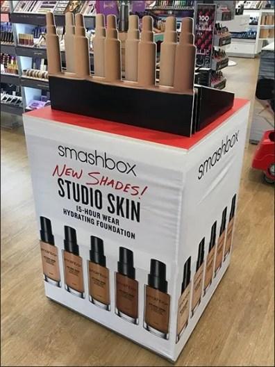 Ultra Smashbox Flat Dimensional POP Display Aux
