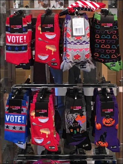 Republican Red Sock Merchandising – Vote With Your Feet