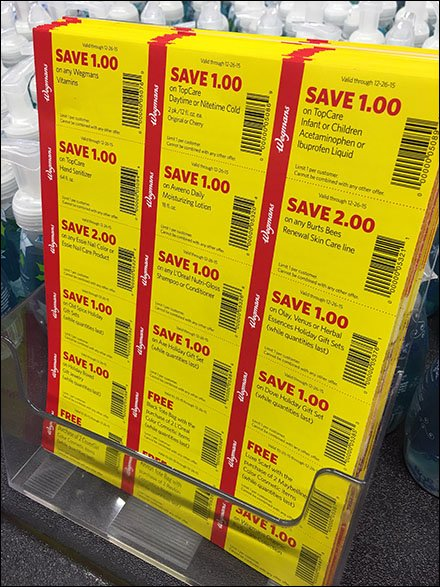 Table-Top Perforated Coupon Parent Sheet Holder
