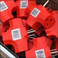 Peak-Season Electrical-Plug Bulk Bin