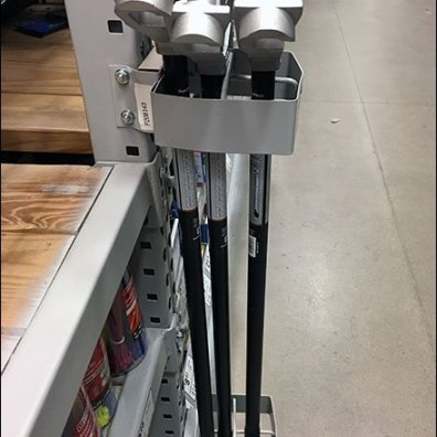 Conduit Bender Quiver for Pallet Rack
