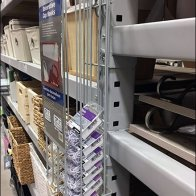 Cup Hook Gravity Feed for Pallet Rack