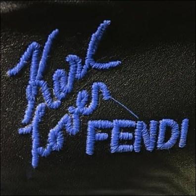 Fendi Karl Lover Logo