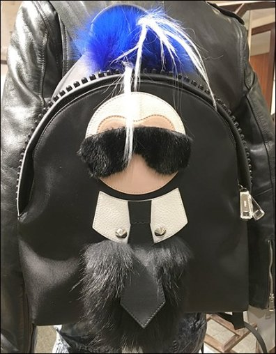 Fendi Karlito Backpack As Attention Compeller