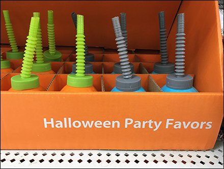 Halloween Party Favor Corrugated Category Management