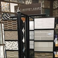 Jeffrey Court Multiple Spinner Tile Floor Display
