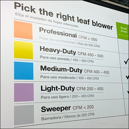 Color Coded Store Fixtures